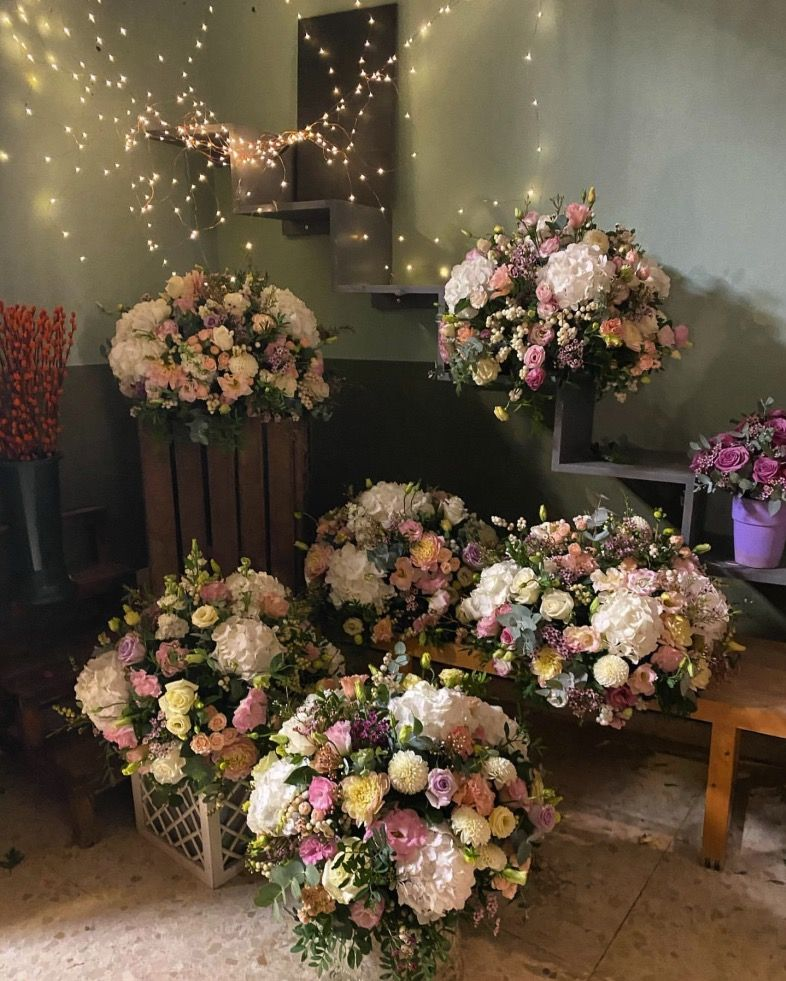 Fantastic Gibraltar Wedding flowers by Florium Sotogrande - Cádiz, Spain